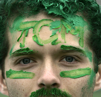 UTEP will go green during a Centennial edition of TCM Day where the entire campus is invited to participate in the University's longest running tradition that honors St. Patrick, the patron saint of engineers. TCM Day is one of many Centennial celebrations planned in March.