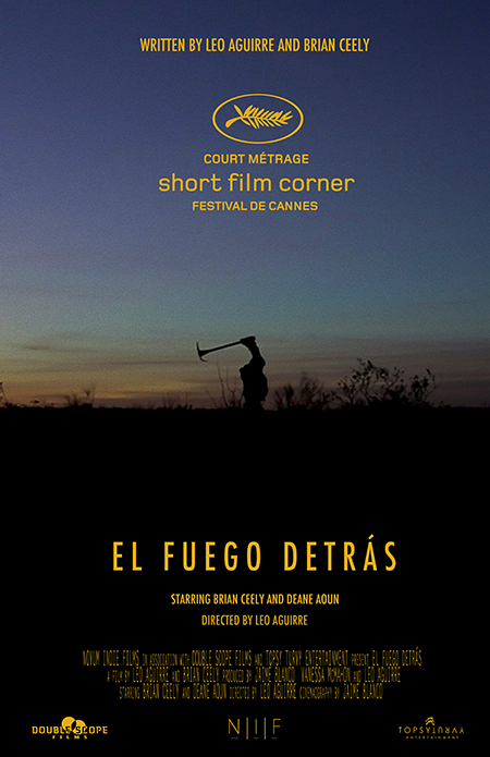 Pictured is the official poster for UTEP student Leo Aguirre's short film, which will be screening at the 2014 Cannes Film Festival.