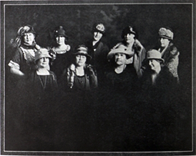 The Woman's Auxiliary of UTEP was established in 1924 as the El Paso Women's Association of the College of Mines. Led by Mrs. Frank H. Seamon, whose husband was head of the Chemistry Department at the Texas College of Mines (now UTEP), the group of 24 prominent El Paso women organized fundraising projects that supported athletic teams, dormitories and a student loan fund.