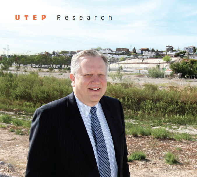 Richard Posthuma's research crosses borders, including the U.S.-Mexico border shown here. He studies employee staffing, conflict management and legal institutions in the United States and international settings.