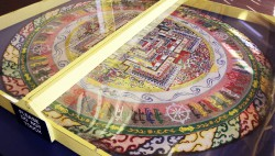 Tibetan Sand Painting to Be Dismantled During Public Event at UTEP