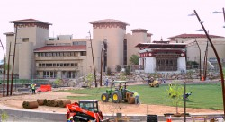 Temporary Closure, New Sod is on Plaza's Work Schedule