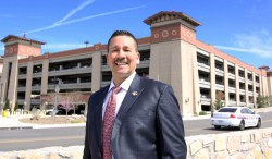 Naval Officer Takes Command of UTEP's Parking and Transportation
