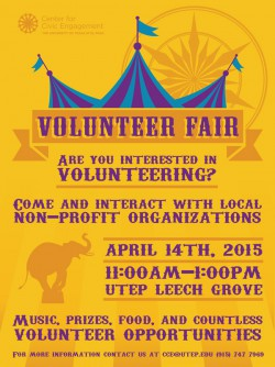 Annual Volunteer Fair Matches Agencies, Students