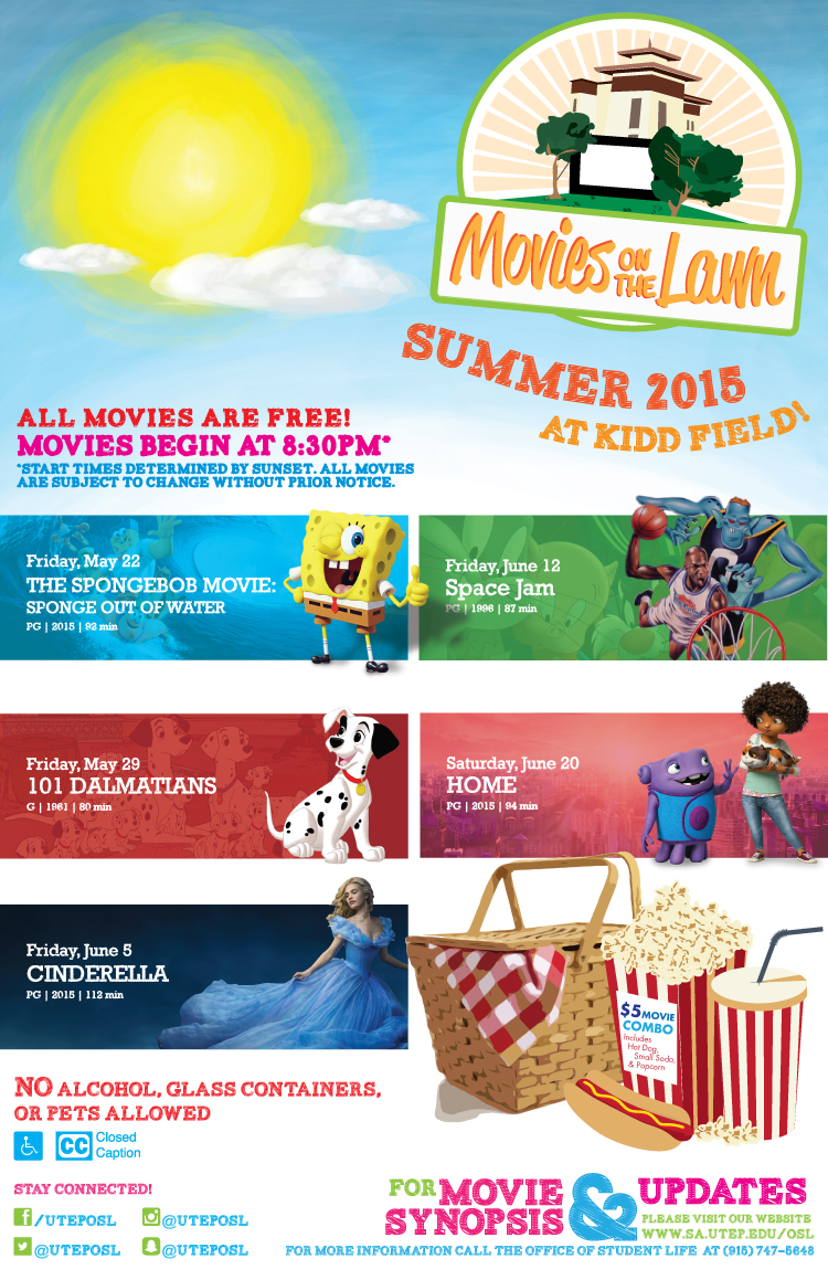 UTEP's Movies on the Lawn Returns With Free Family ...