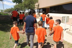 UTEP Volunteers Assist Students with Autism at Summer Camp