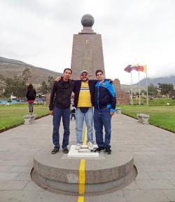 Public Health Graduate Students Study Air Pollution in Ecuador