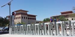 Bike-Share Program Installs Docking Stations on Campus