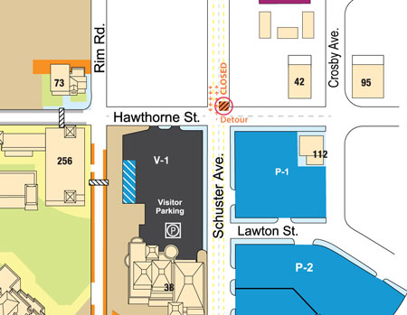 View the full UTEP campus map.