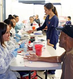 Health Fair Offers H.O.P.E. to Homeless