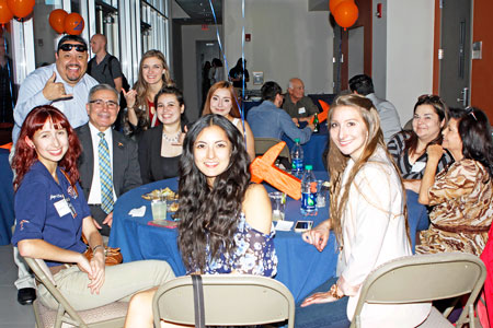 "Faculty, students and alumni attend the UTEP School of Nursing's ""40th Anniversary: Legacy of Healing,"" celebration in April 2016. Photo by Laura Trejo / UTEP Communications"