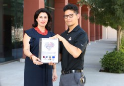 UTEP Goes Purple for LGBTQ Health