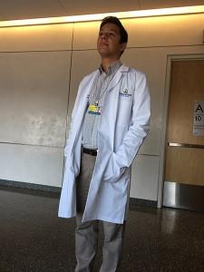 Jacob Hernandez spent his summer doing a research internship at the Johns Hopkins Medical School. Photo courtesy of Jacob Hernandez