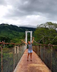 Lizette Gutierrez took part in a seven-week research project detecting the Parechovirus in Panama. Photo courtesy of Lizette Gutierrez