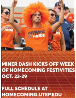 UTEP to Kick Off Homecoming 2016