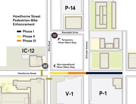 Hawthorne Street Pedestrian-Bike Enhancement Project